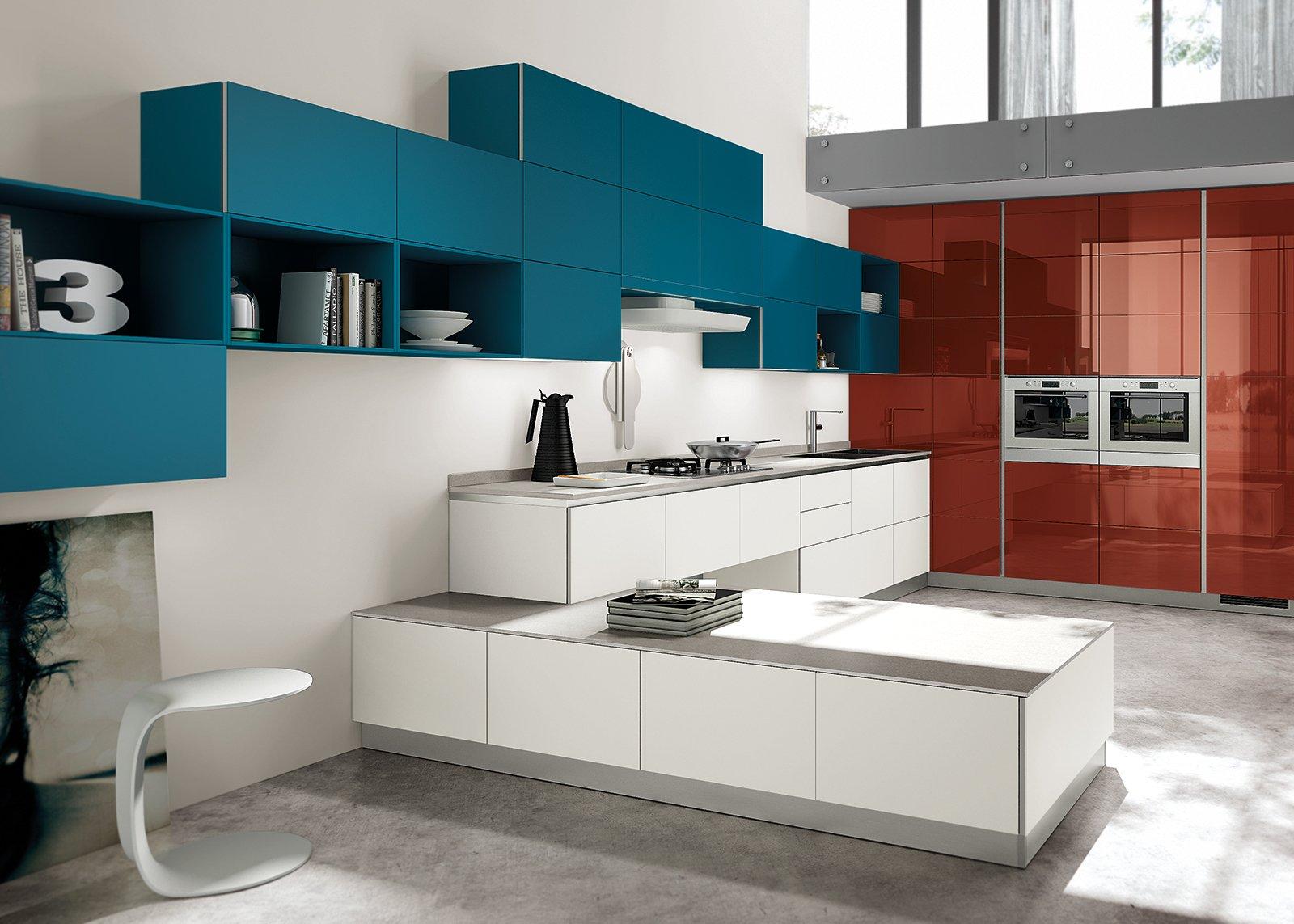 Scegliere la cucina con un tocco di rosso   cose di casa