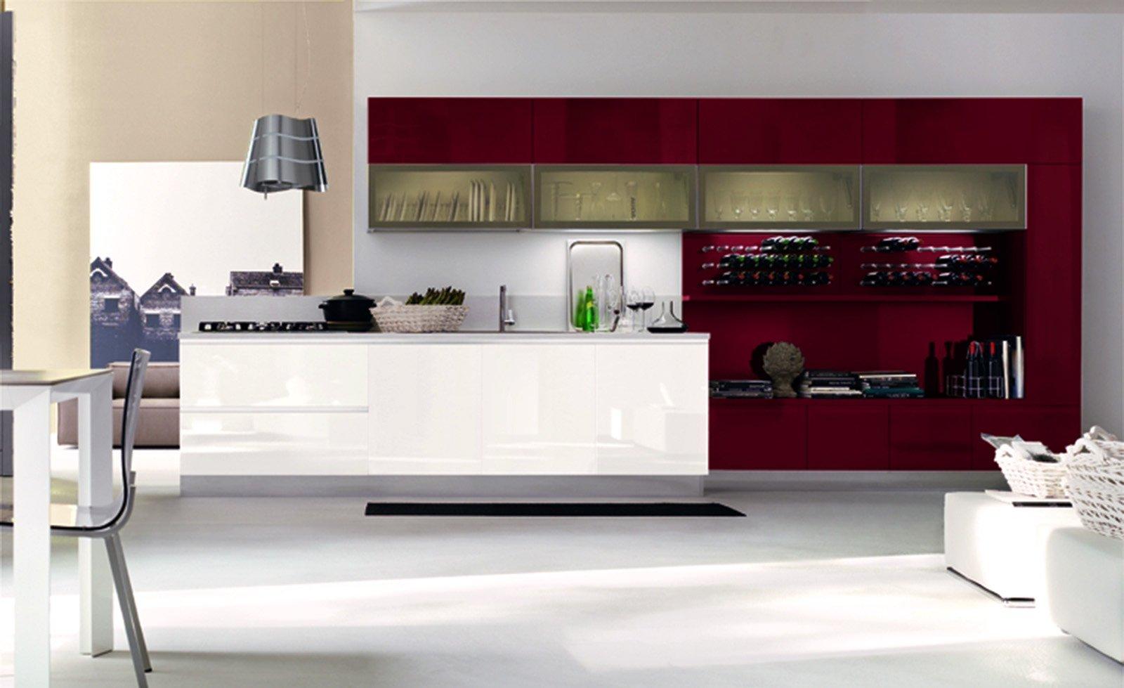 Casabook immobiliare scegliere la cucina con un tocco di for Programma per comporre cucine