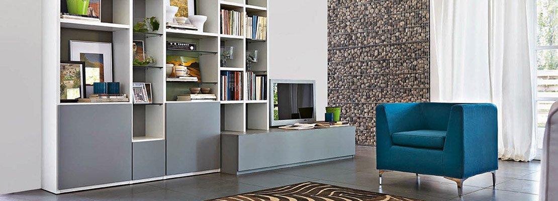 Librerie componibili i mobili pi importanti del for Mobili lema soggiorno