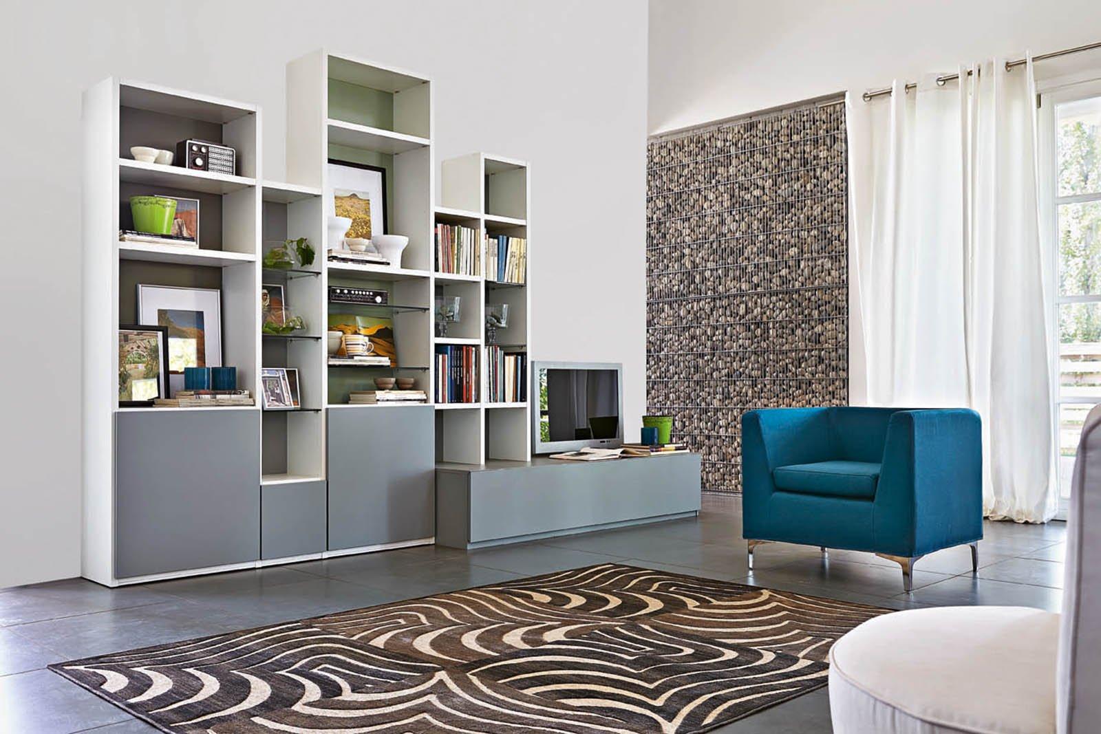 Librerie componibili: i mobili più
