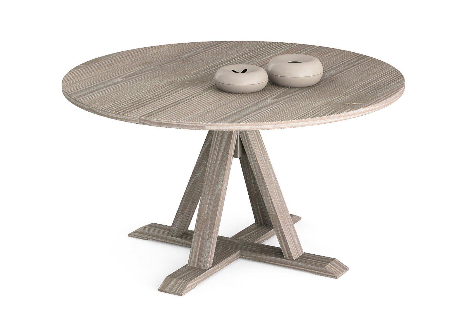 Tavoli con sostegno centrale cose di casa - Tavolo rotondo allungabile calligaris ...