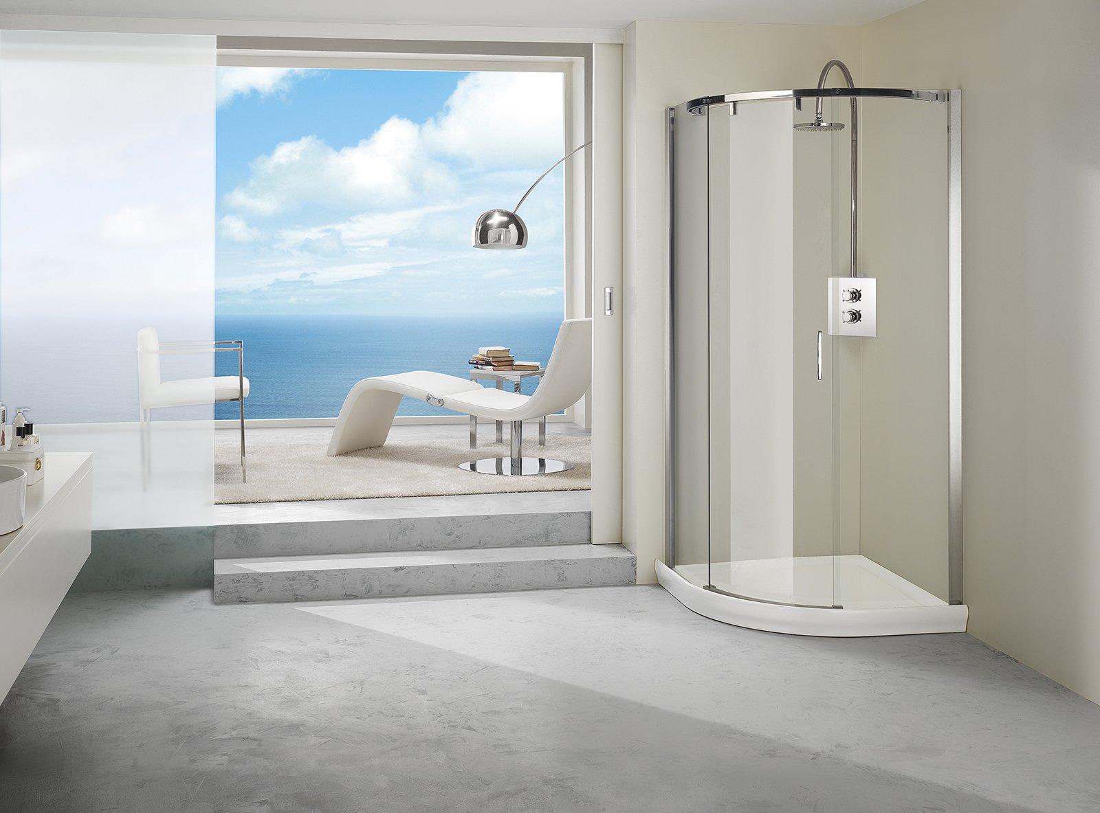 Docce doccia moderna di design n with docce docce e - Linea bagno thun ...