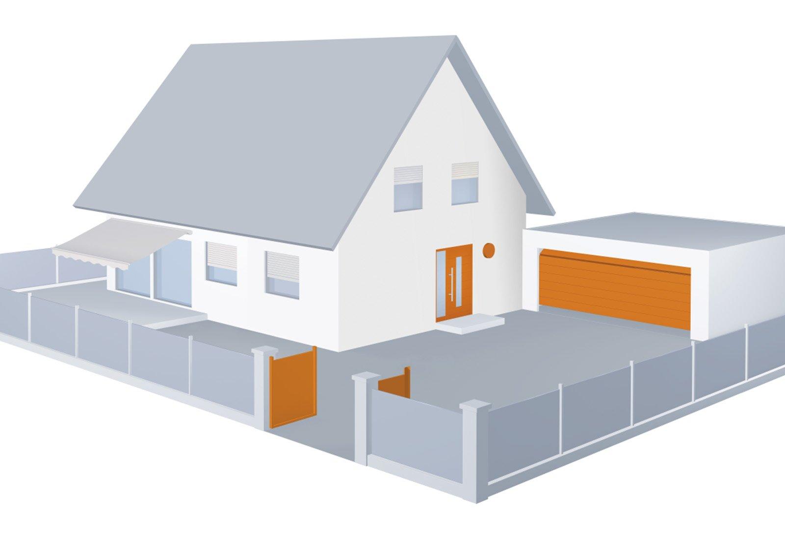 Sicurezza casa una app per comandare in automatico porte for Una casa di tronchi con garage annesso