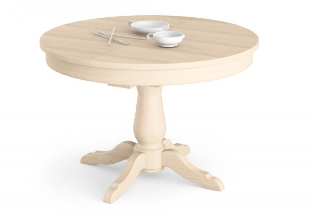 Tavoli allungabili trasformabili quando serve cose di casa for Tavolo bianco rotondo allungabile