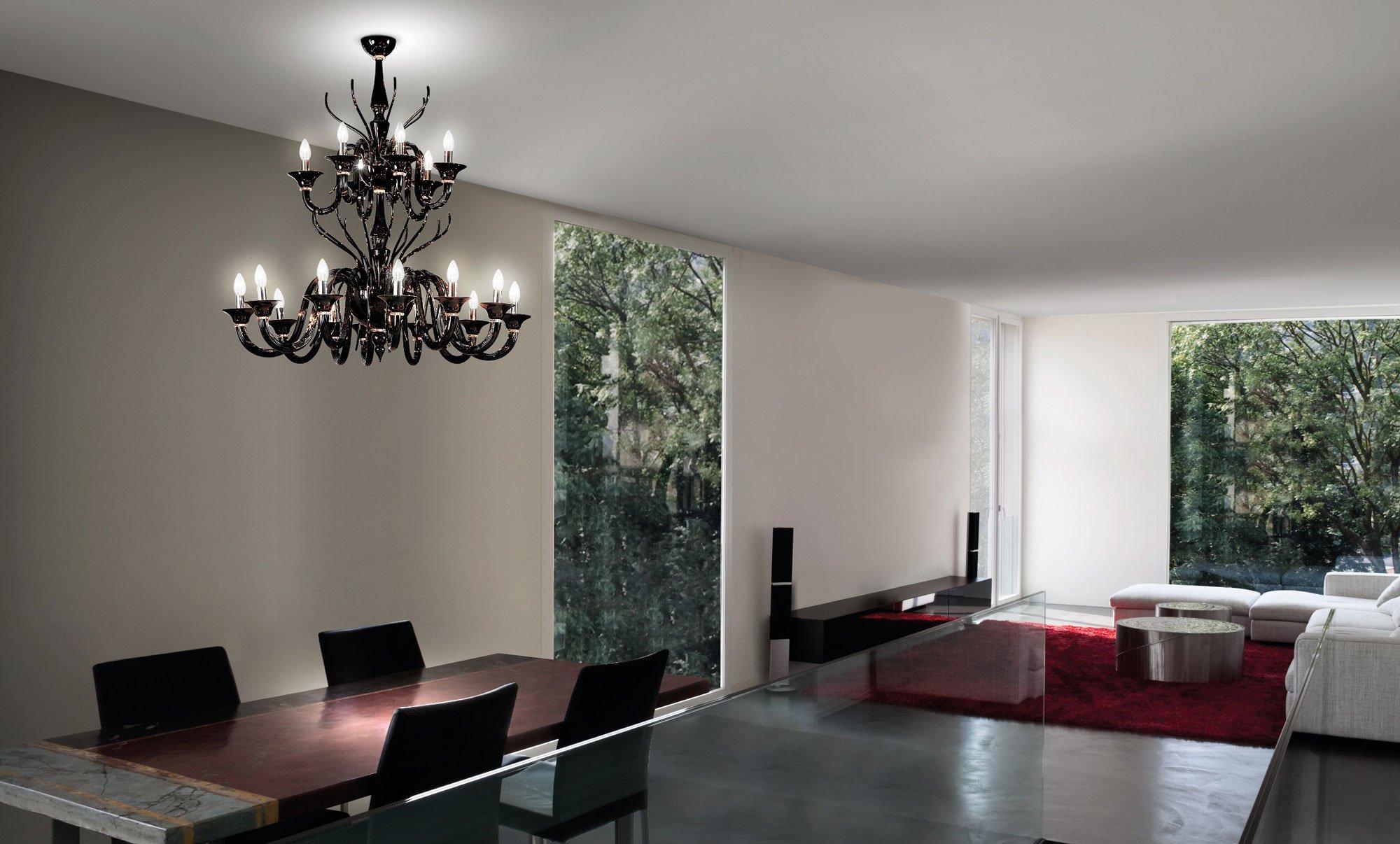 Illuminazione camera da letto scelta sospensioni lampade design - Lampadari per camera da letto classica ...