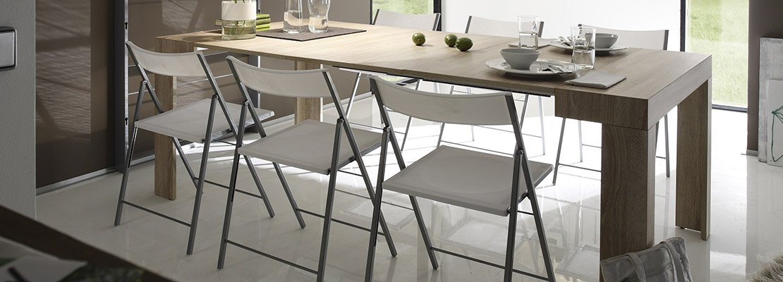 Tavoli allungabili trasformabili quando serve cose di casa for Tavolo allungabile mercatone uno