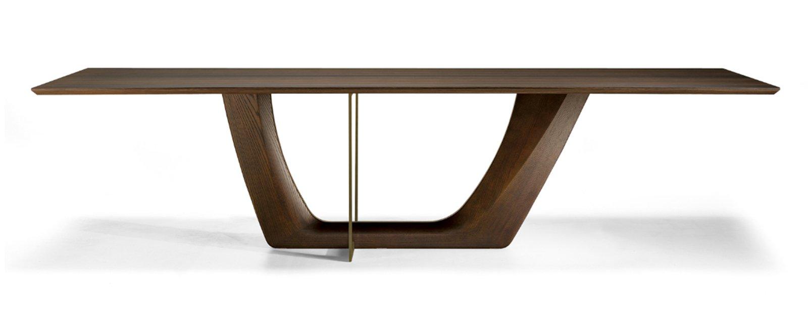 Tavolo Con Gamba Centrale Allungabile tavoli con sostegno centrale - cose di casa