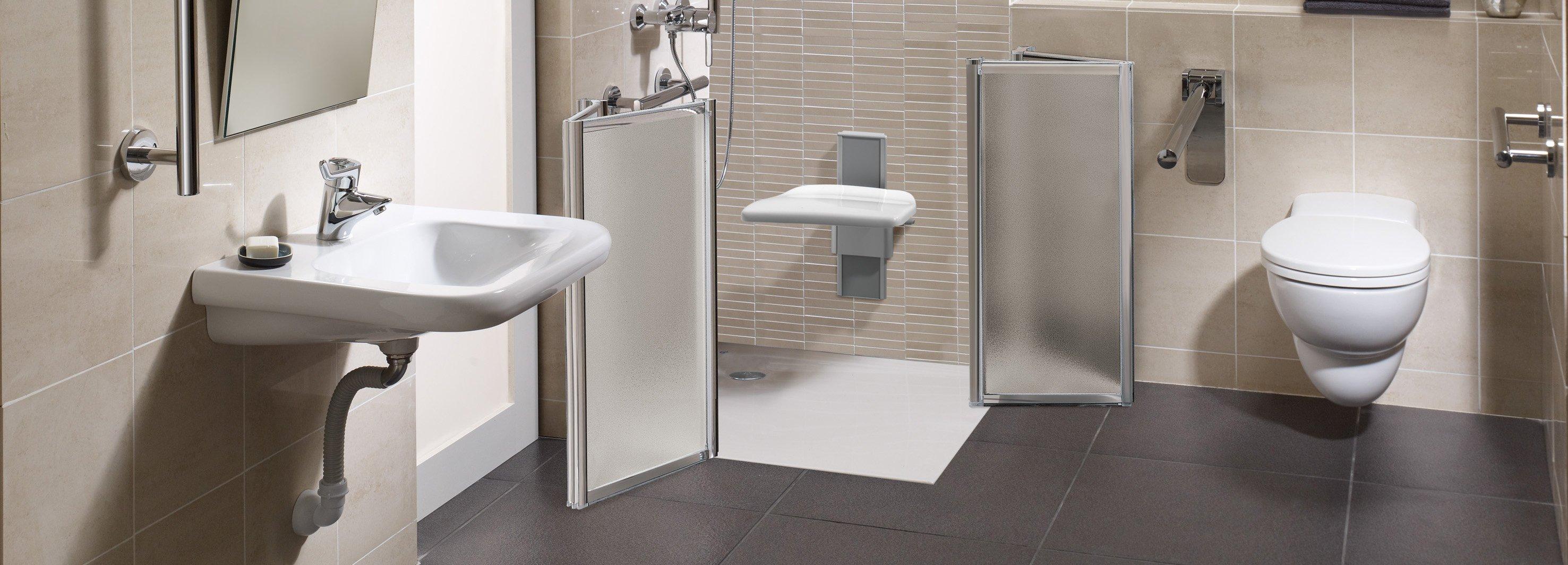 Un bagno pi comodo anche per anziani e disabili cose - Idee per rivestire un bagno ...