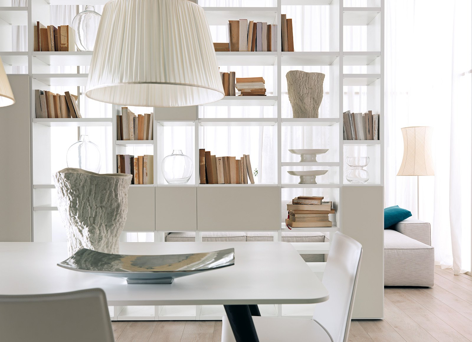 Librerie componibili i mobili pi importanti del for Divisori ambienti ikea