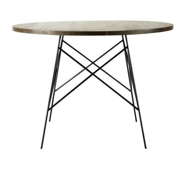 con finitura a olio, il tavolo rotondo Berkley di Maisons du Monde ...