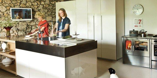 La cucina di una volta: per cuocere e riscaldare come con i tradizionali modelli a legna
