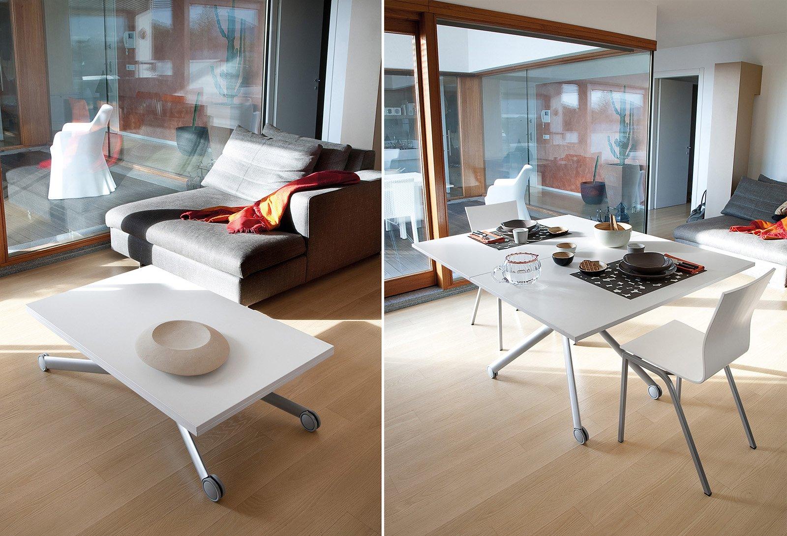 Tavoli allungabili trasformabili quando serve cose di casa - Tavolo piccolo ikea ...