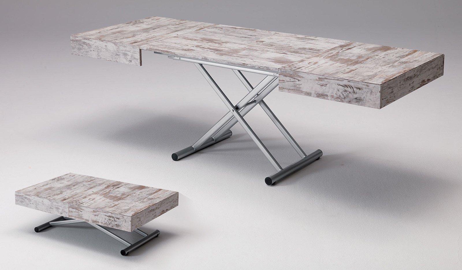 Tavoli allungabili trasformabili quando serve cose di casa - Tavolini da salotto ikea ...