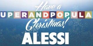 Regali di Natale: un oggetto Alessi in omaggio a fronte di un acquisto
