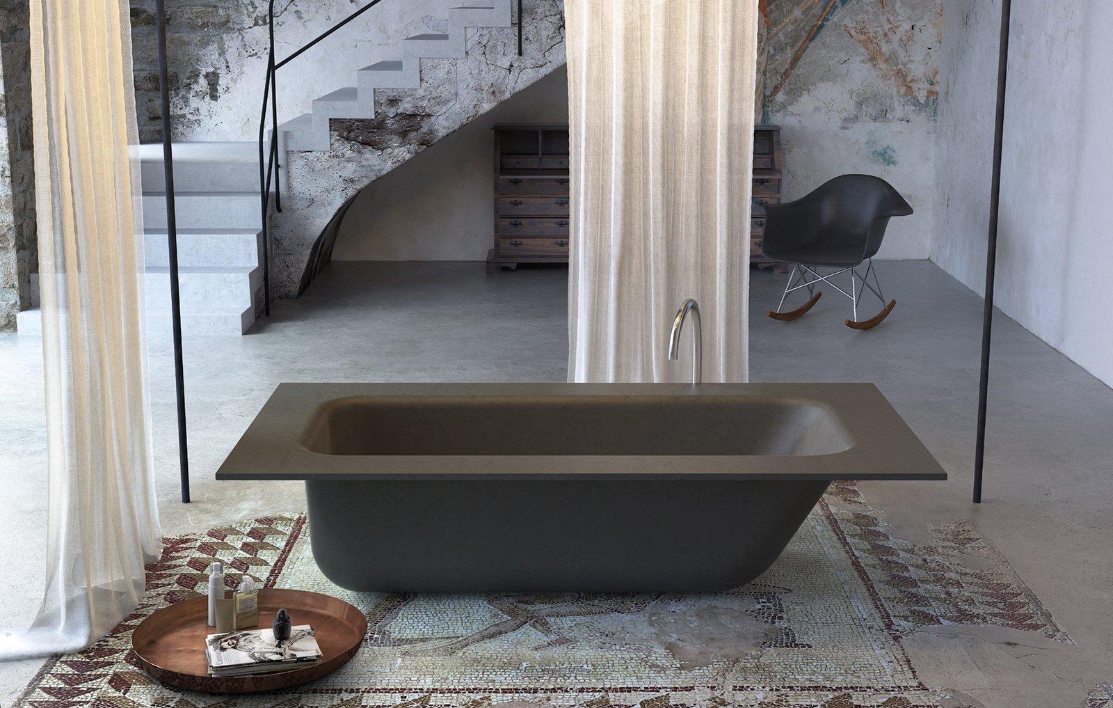 Vasca Da Bagno In Cemento : Bagno con finiture cemento o effetto cemento cose di casa