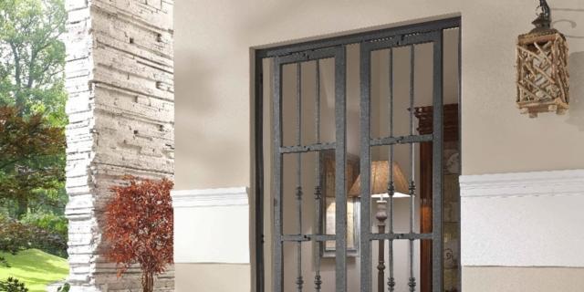 Cose di casa arredamento casa cucine camere bagno normativa - Inferriate mobili per finestre ...
