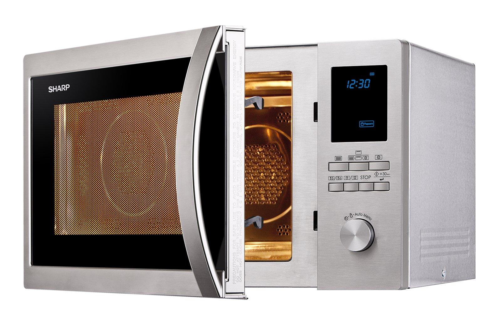 Sharp r982stwe 42l convection eu 0124 microonde cose di casa - Mobiletto per forno microonde ...