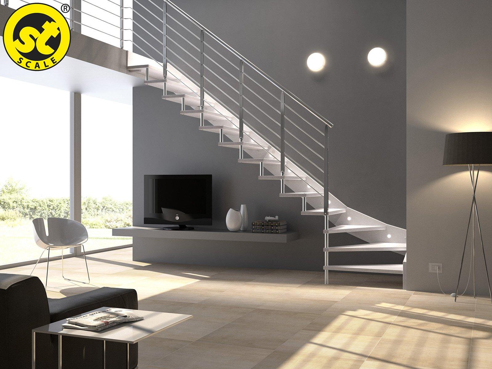 Casabook immobiliare scale prefabbricate modelli a - Case con scale interne ...