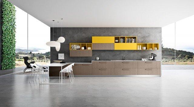 Nuove cucine con maniglia protagonista cose di casa - Arredo3 cucine ikea ...