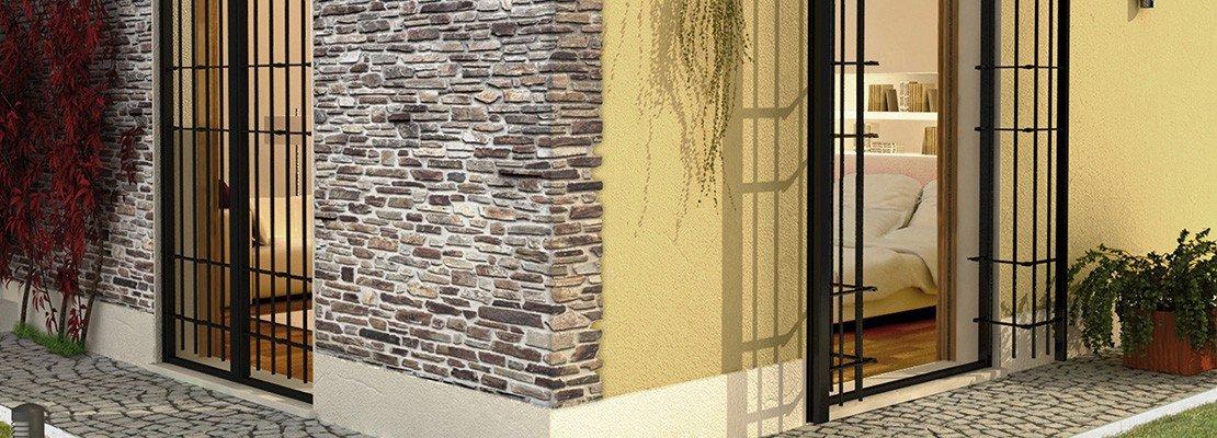 Sicurezza in casa con le inferriate alle finestre cose for Piccoli piani di casa con un sacco di finestre