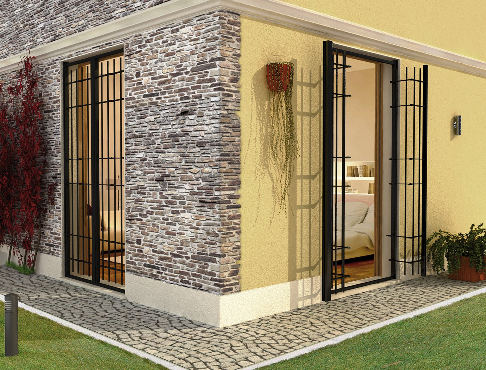 Sicurezza in casa con le inferriate alle finestre cose for Immagini di casa