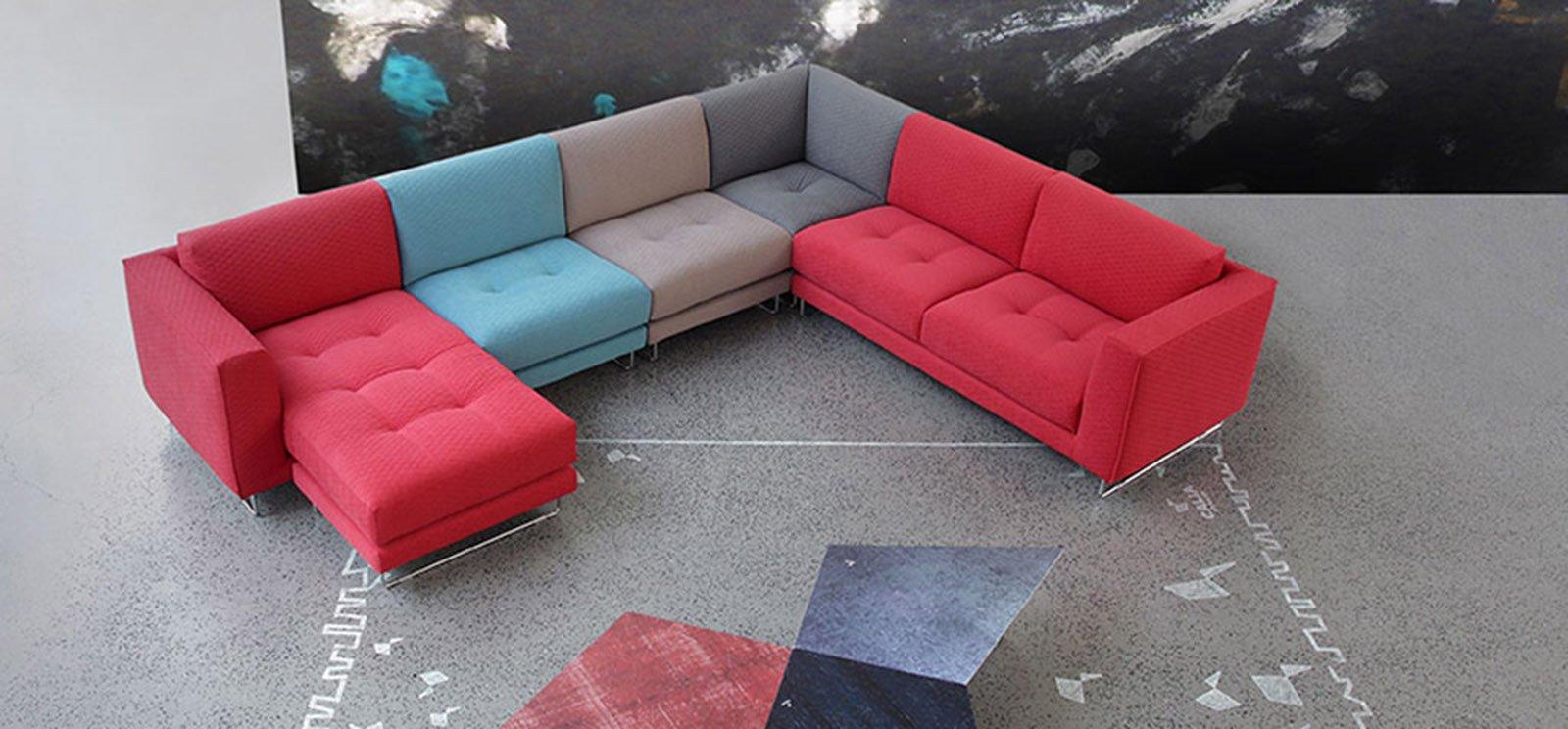 Imbottiti componibili a volte possono anche cambiare - Un piccolo divano imbottito ...