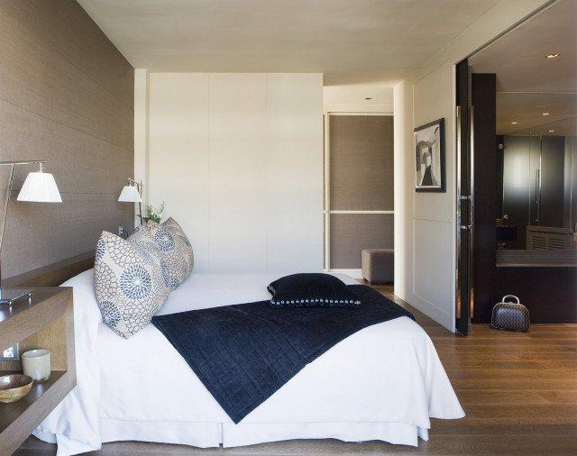 Progetti in 3d uno spazio per il neonato nella camera for Idee camera matrimoniale