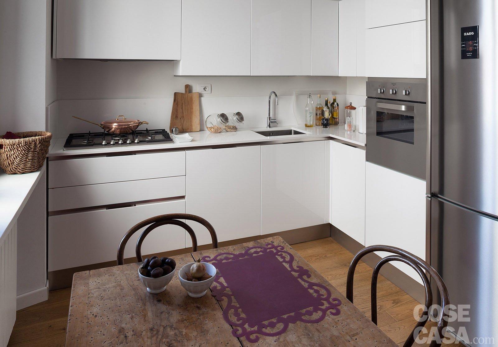 Cucina americana arredamento negozio online tende di for Piani letto stile shaker