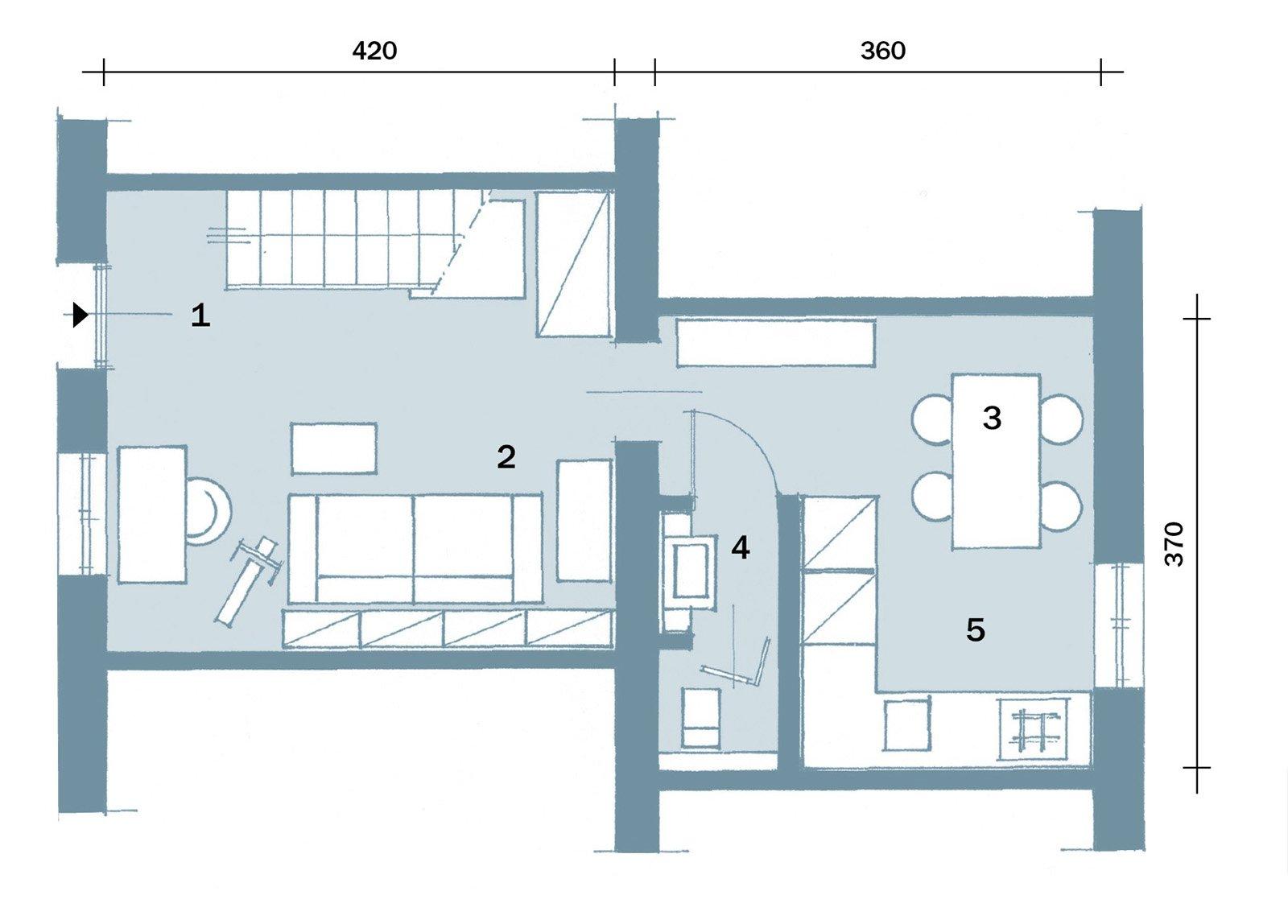 58 mq trasformati con mini interventi cose di casa for Progetti di casa sollevati