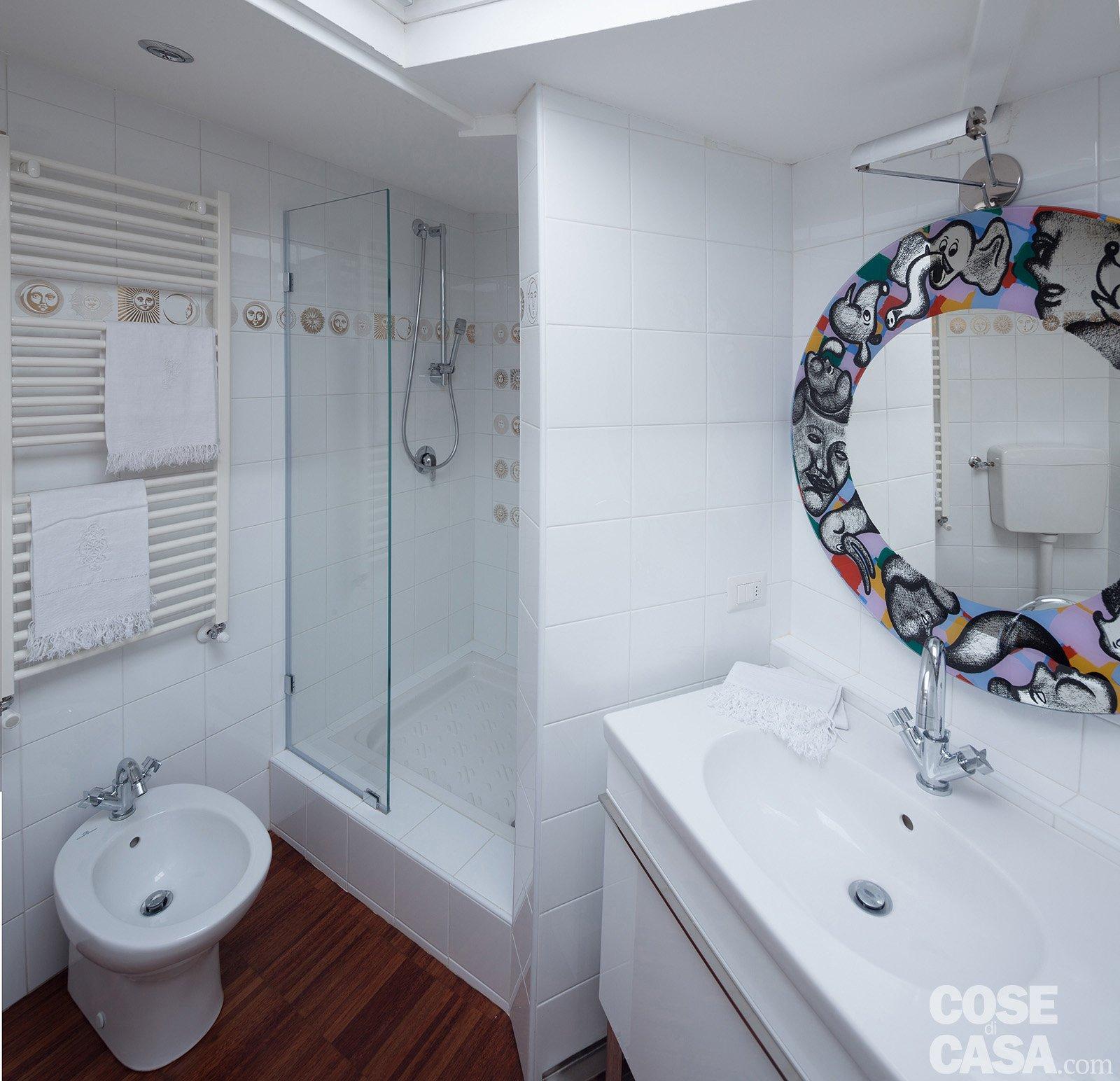 Interni en plein air cose di casa for Box doccia in muratura foto