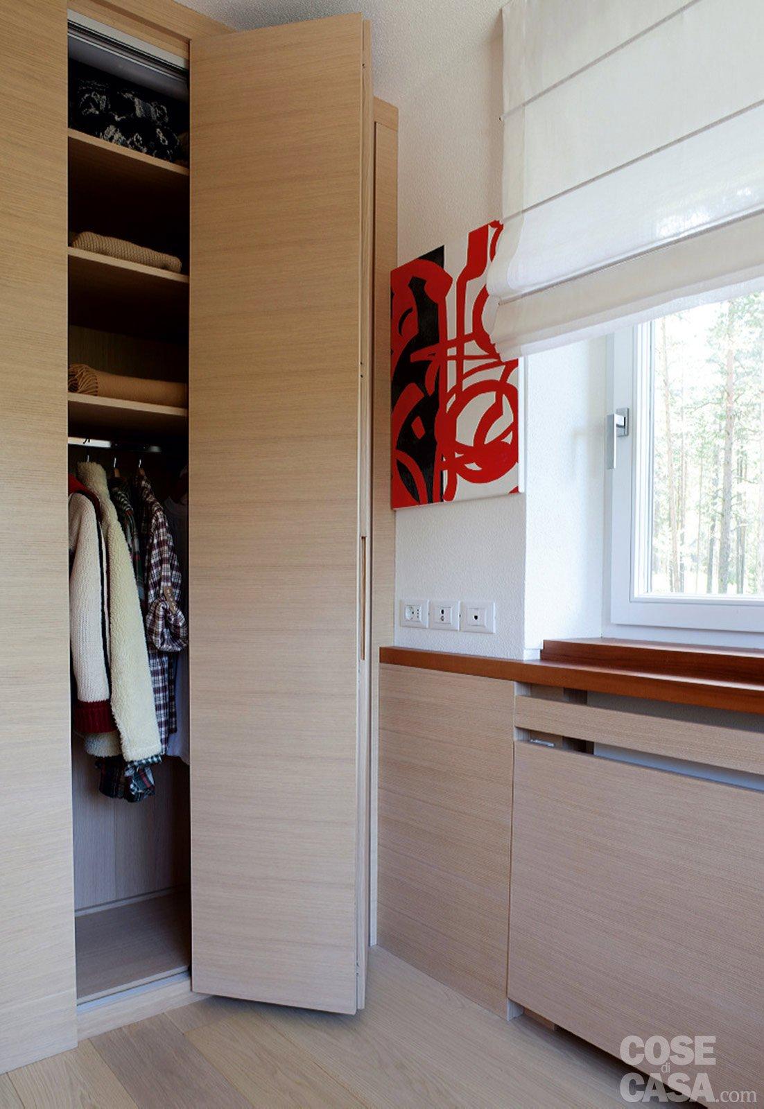 57 mq una casa con stanze trasformabili cose di casa - Panca sotto finestra ...