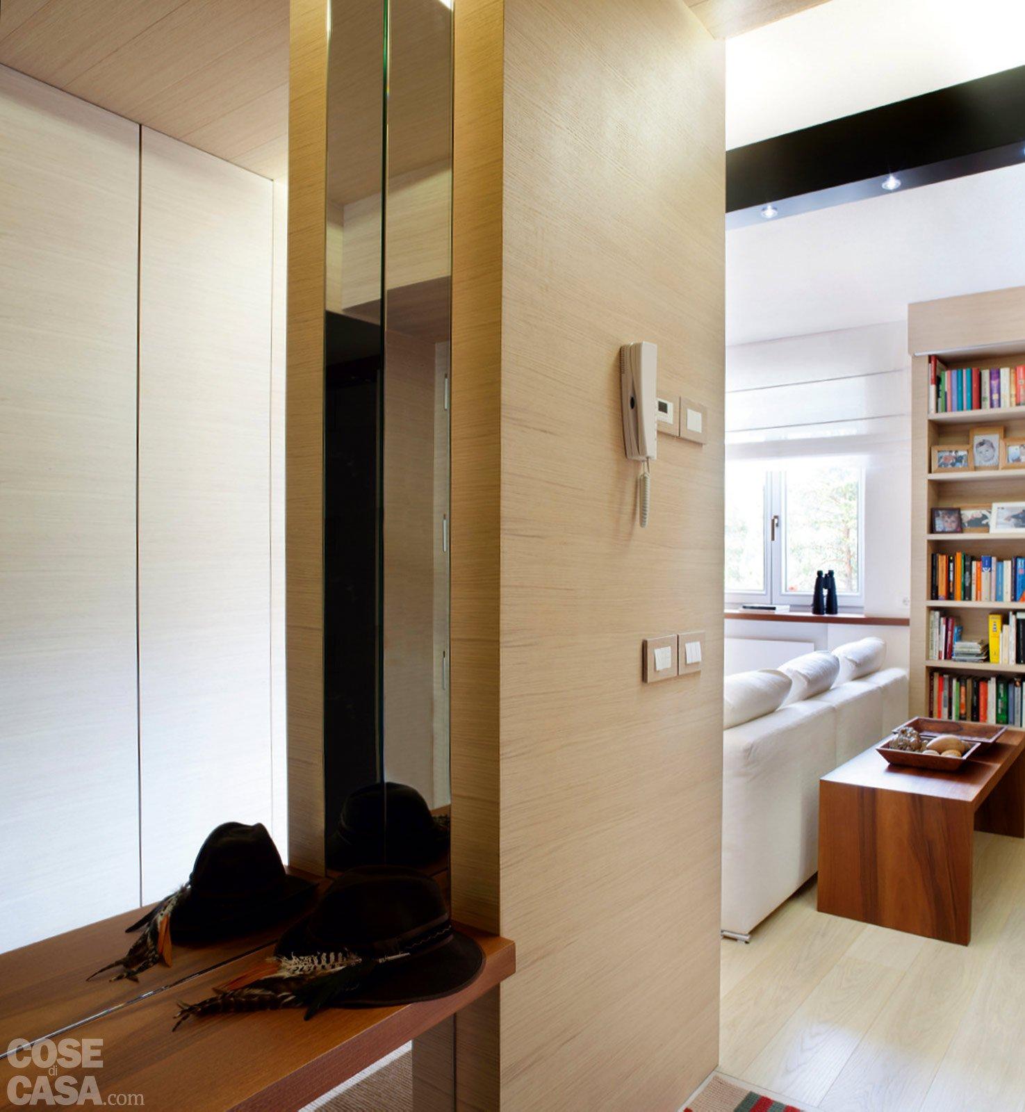 57 mq una casa con stanze trasformabili cose di casa for Casa di sei stanze