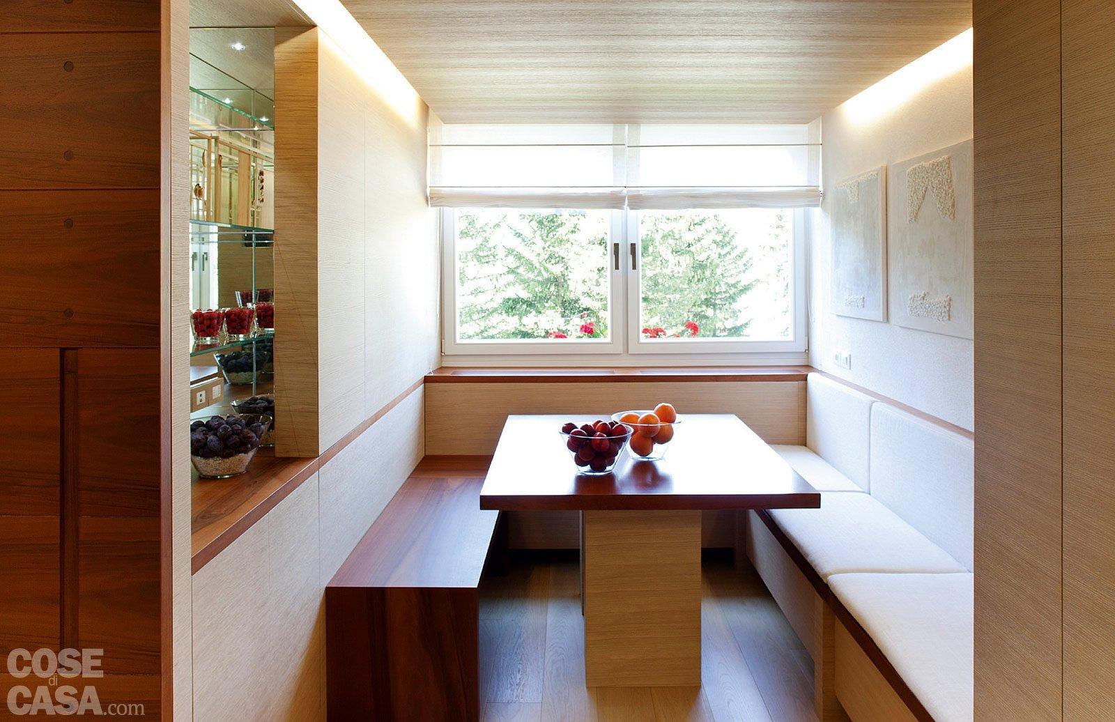57 Mq: Una Casa Con Stanze Trasformabili Cose Di Casa #3B1508 1600 1036 Panche IKEA