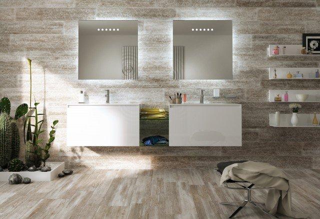Pavimenti per il bagno. dal travertino al gres cose di casa