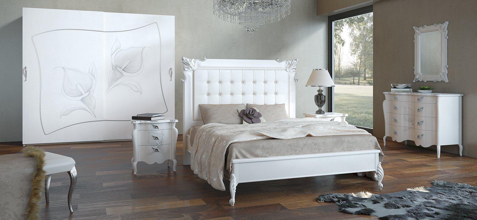 L 39 armadio decorato in stile new classic cose di casa - Lumi camera da letto ...