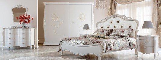 L'armadio decorato in stile new classic