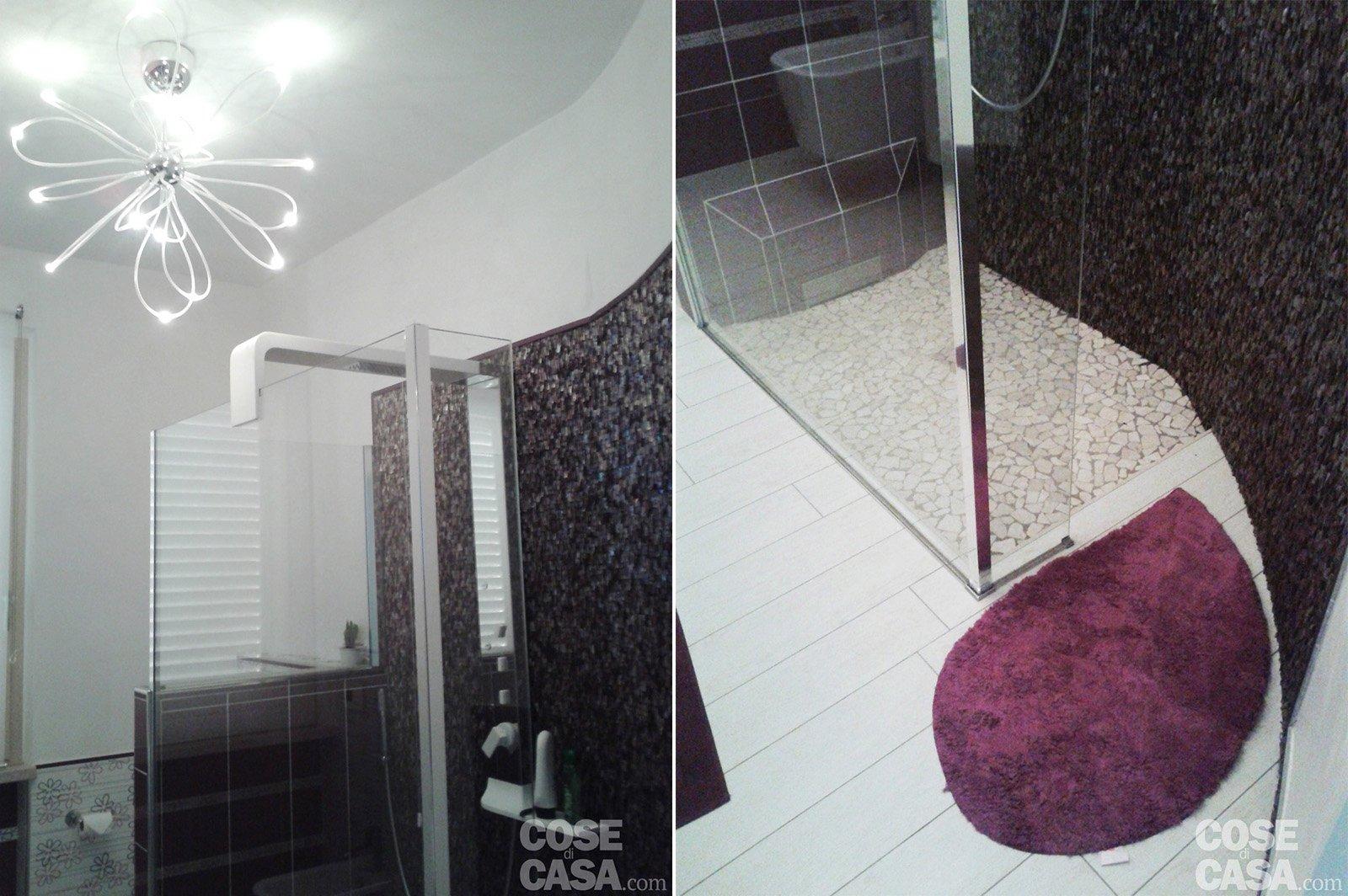 Una casa con giochi di luce soluzioni d 39 arredamento e for Rivestire mattonelle bagno
