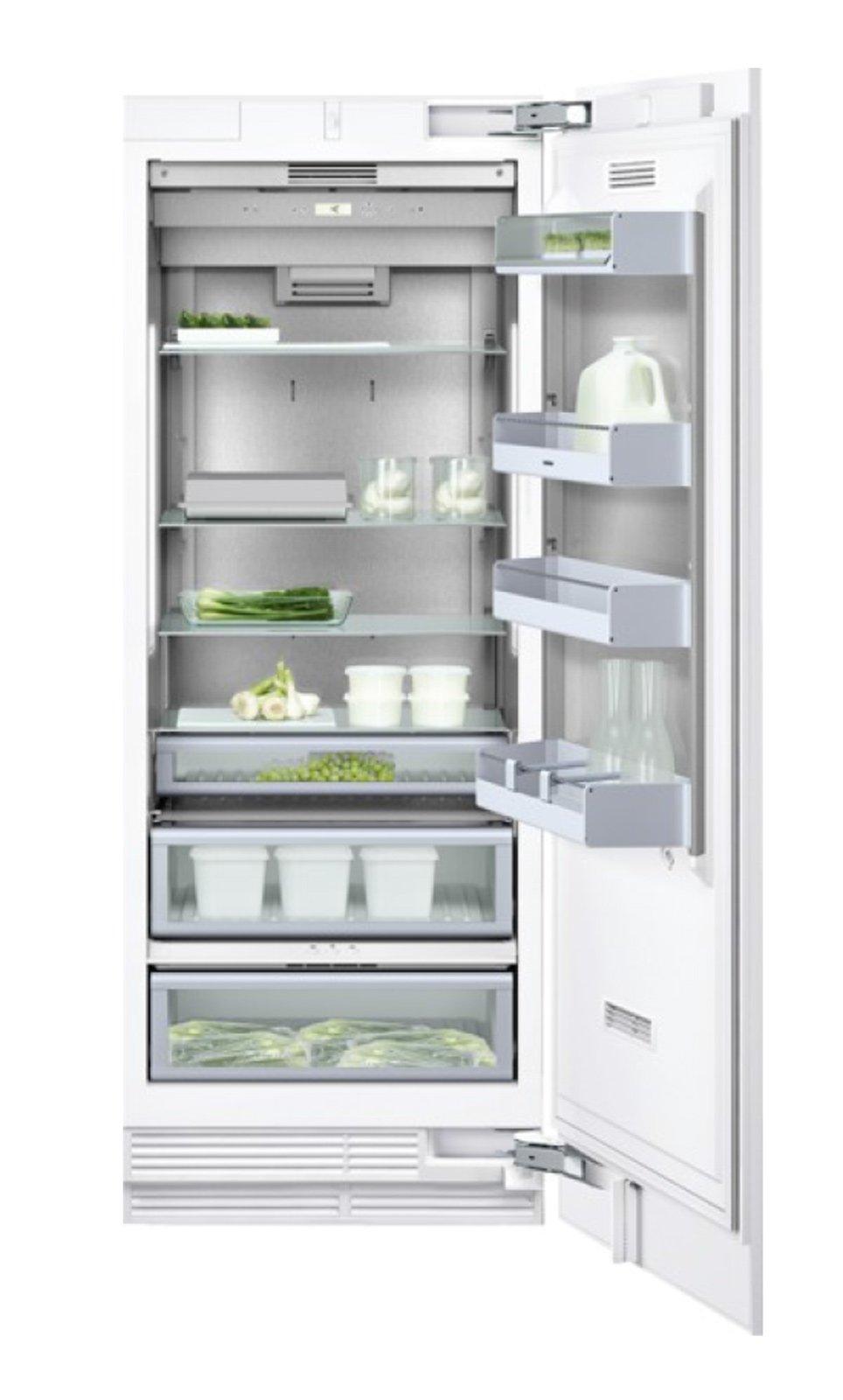 frigoriferi con scomparti e temperature per i diversi alimenti