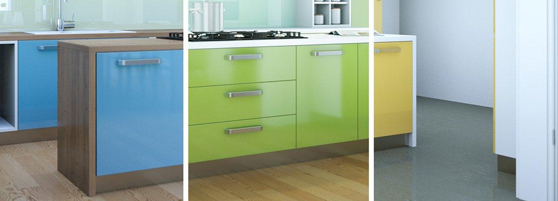 rinnovare la cucina in modo soft. poco lavoro e poca spesa - cose ... - Leroy Merlin Mobili Cucina