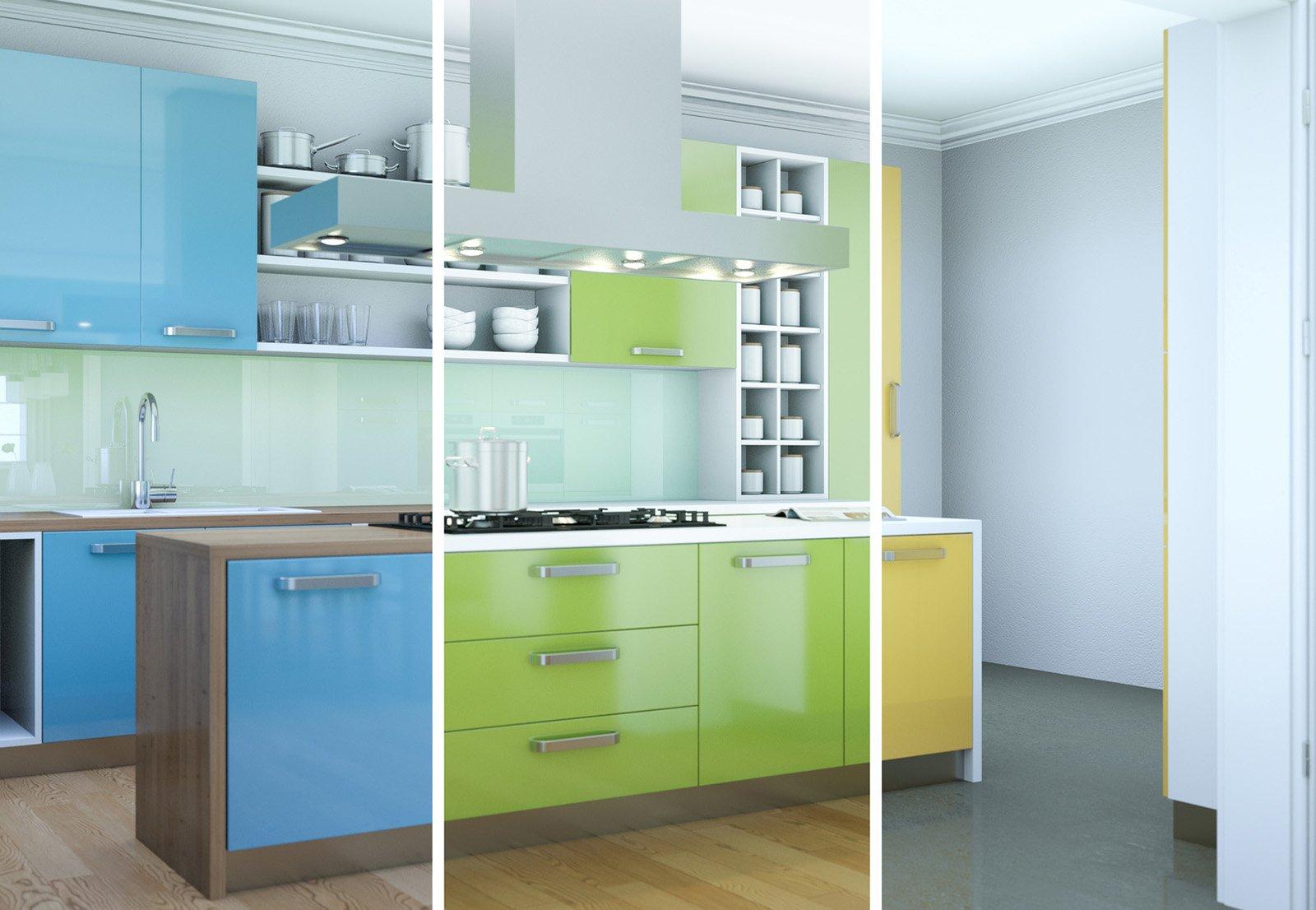 Rinnovare la cucina in modo soft poco lavoro e poca spesa for Mobili cucina fai da te