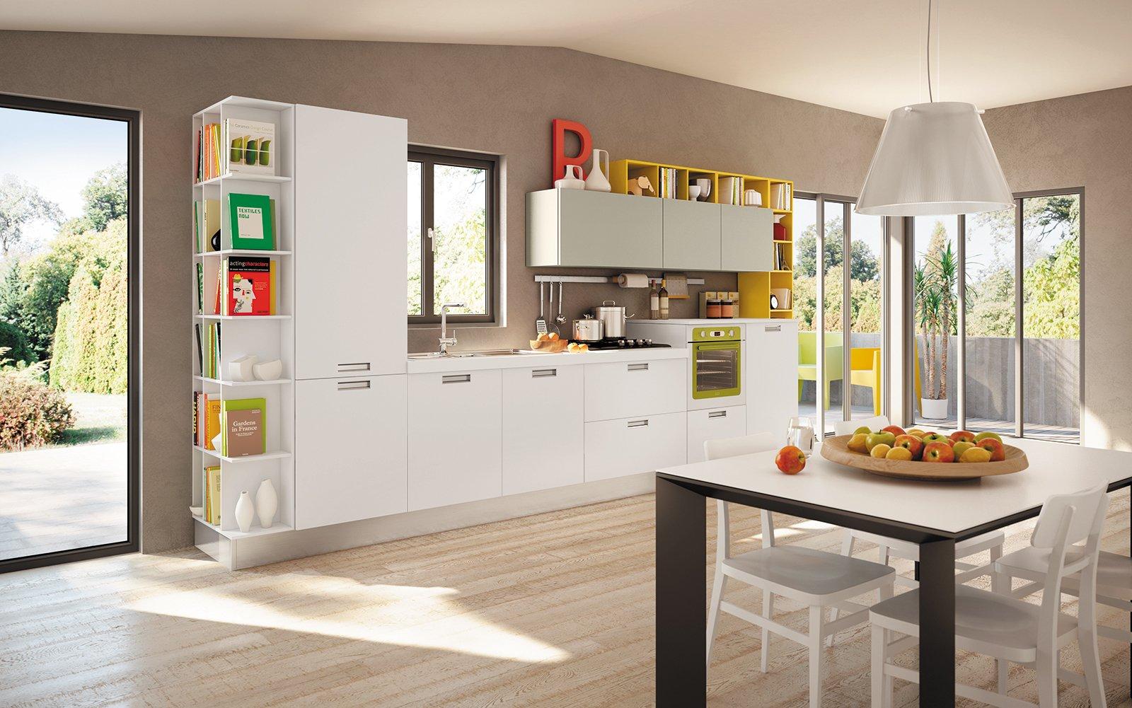in cucina i vani a giorno fanno tendenza - cose di casa - Componi Cucina
