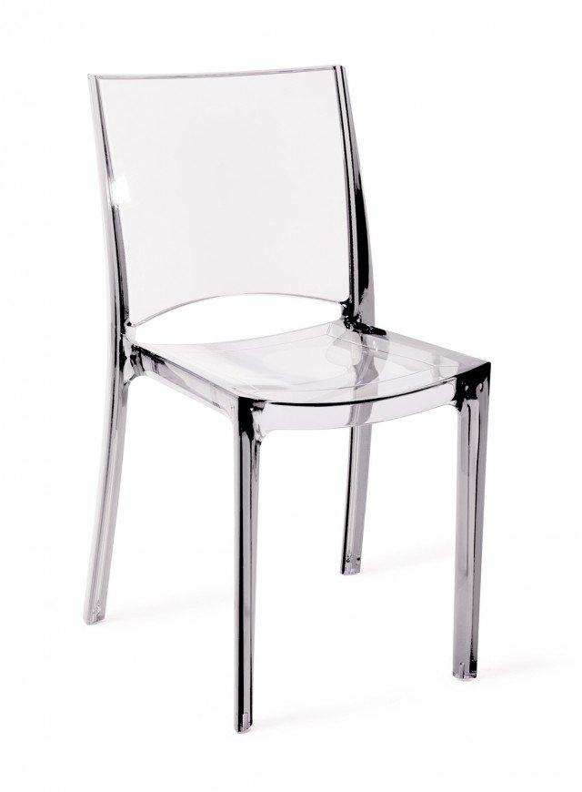 Sedie In Plastica Usate.Sedie Trasparenti E La Stanza Sembra Piu Grande Cose Di Casa