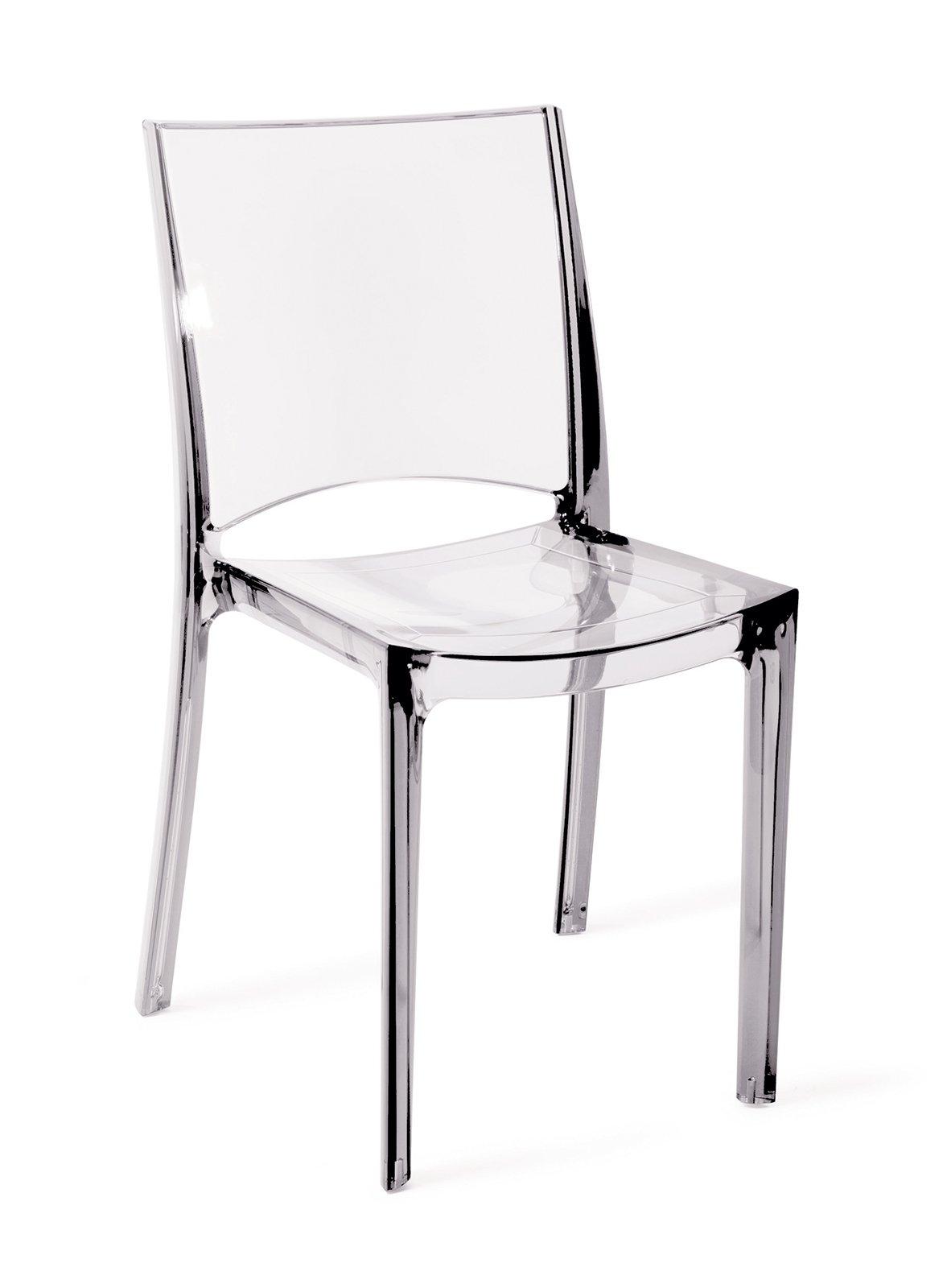 Mercatone uno syde sedie trasparenti cose di casa - Sedie plastica design ...