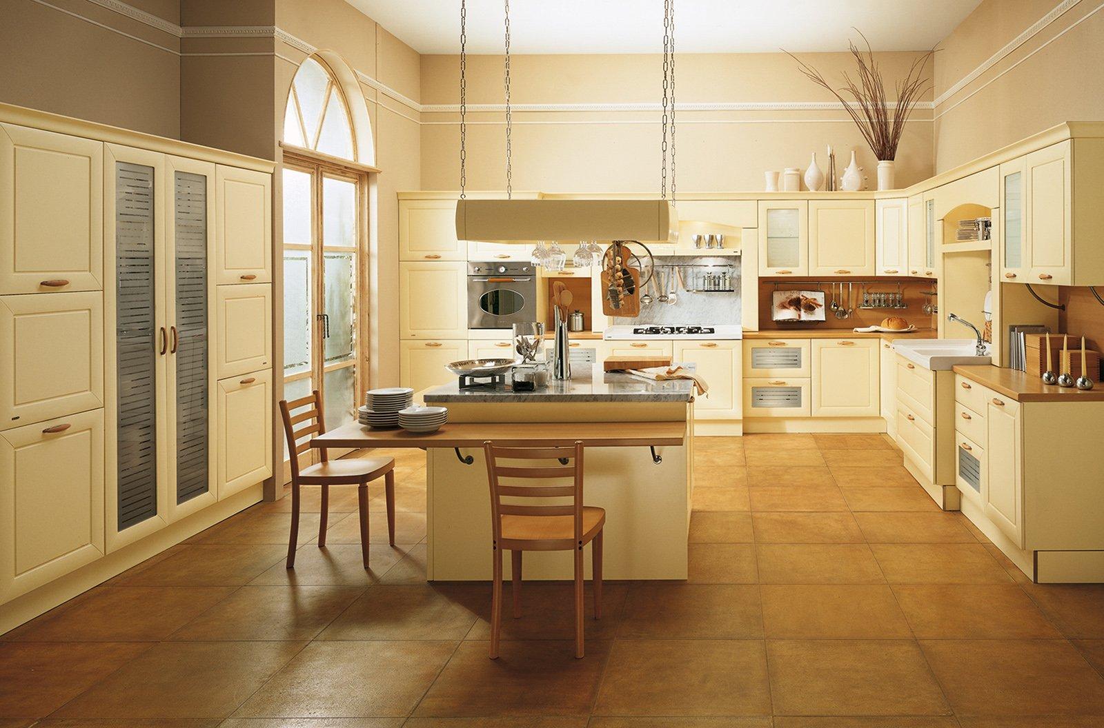 Scic positano legno classico cucine cose di casa - Cucine scic classiche ...