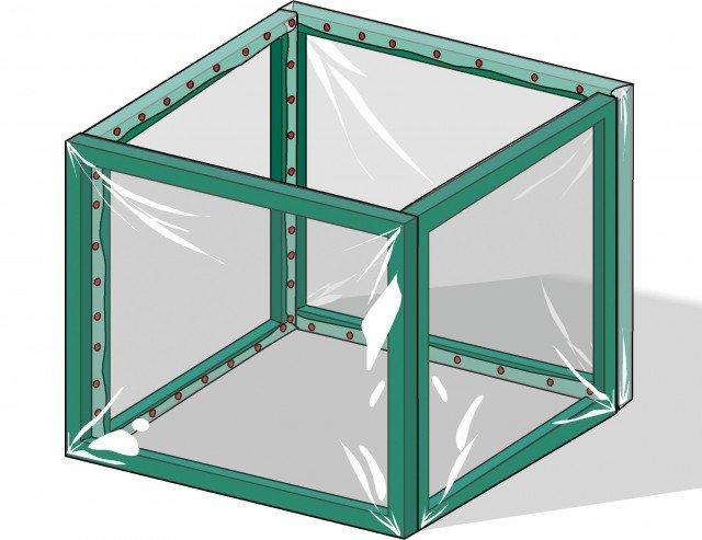 Costruire piccole serre per i vasi d inverno cose di casa - Costruire una serra in casa ...