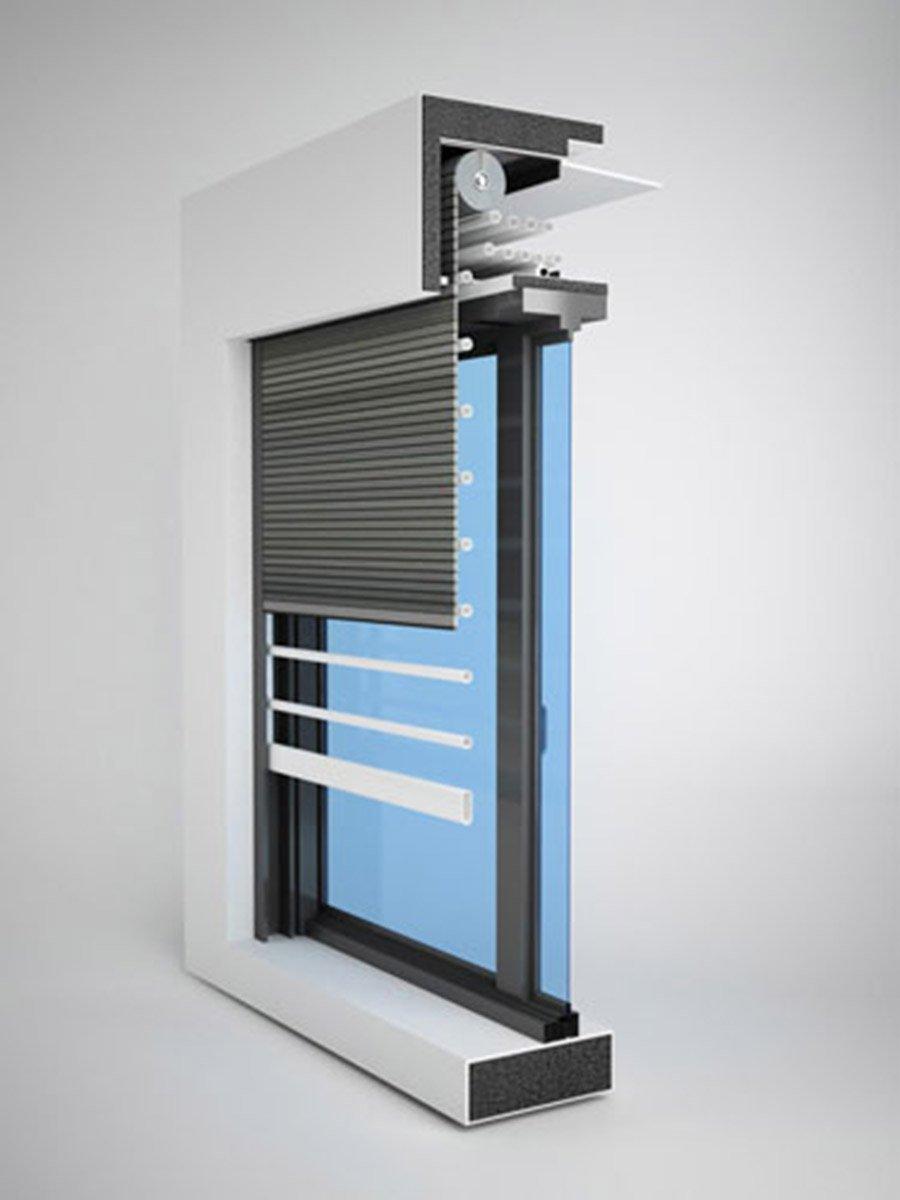 Tapparelle per aumentare sicurezza cose di casa - Serranda elettrica casa ...
