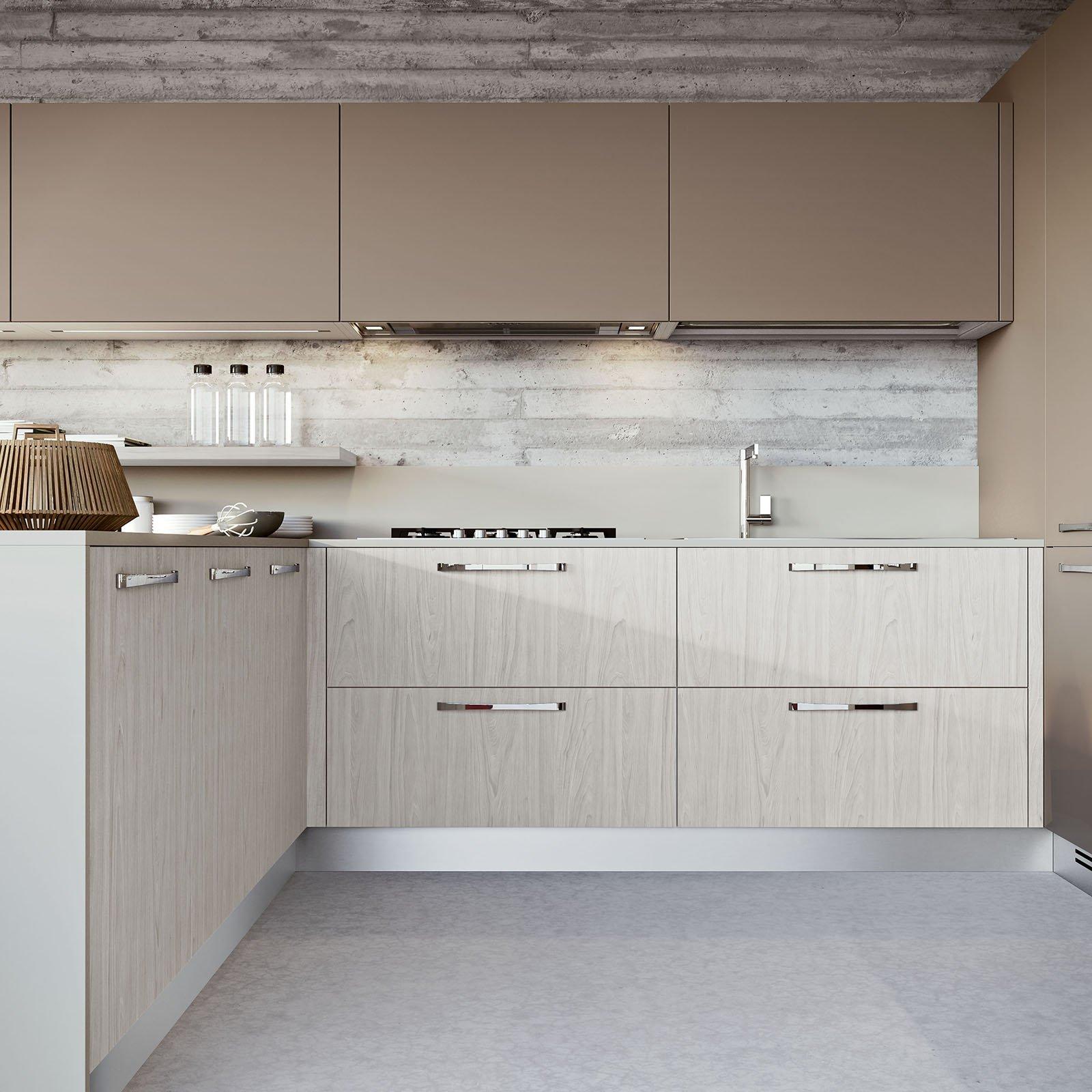 Cucina la luce nel punto giusto cose di casa for Cucine arredo tre