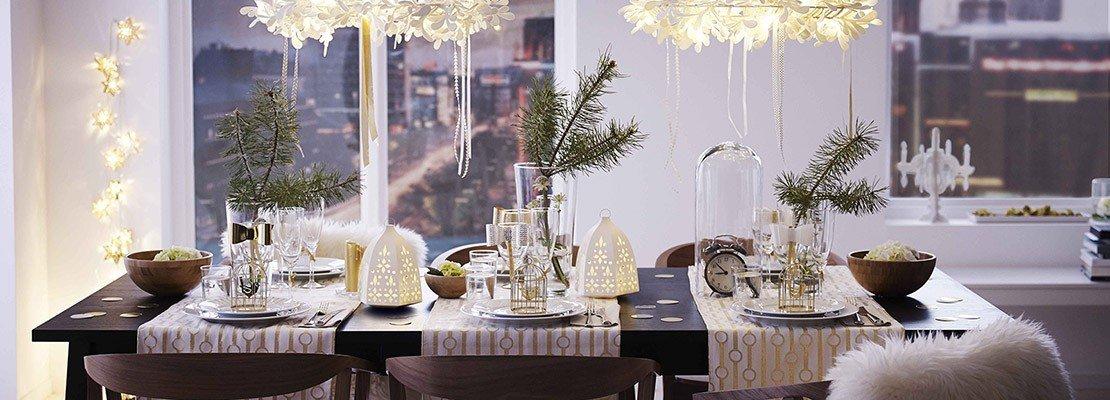 Addobbare la casa e la tavola per le feste cose di casa - Tavole apparecchiate moderne ...