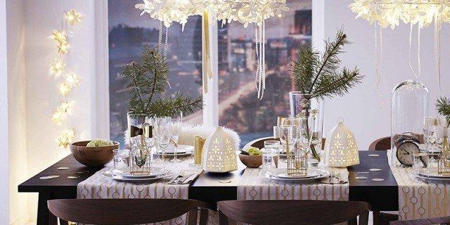 Addobbare la casa e la tavola per le feste
