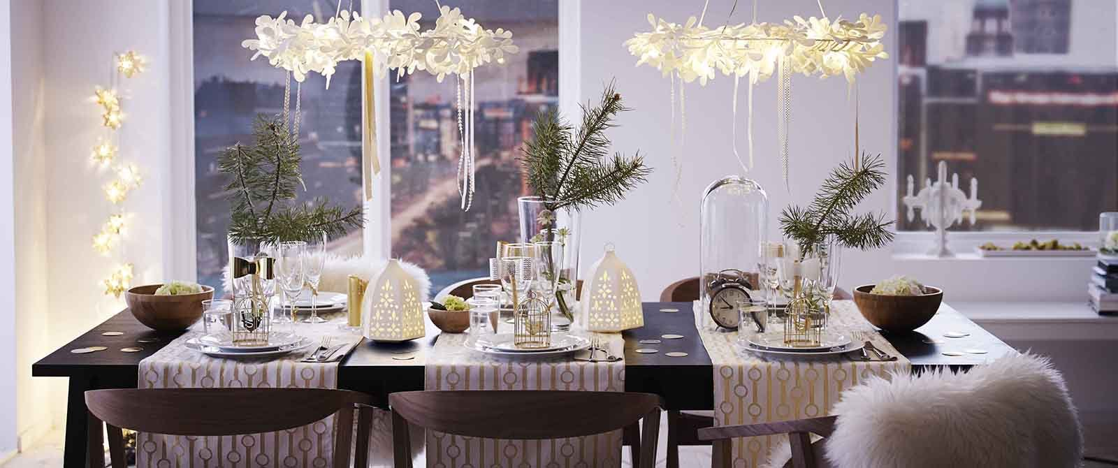 Addobbare la casa e la tavola per le feste cose di casa - Addobbi di natale per la casa ...